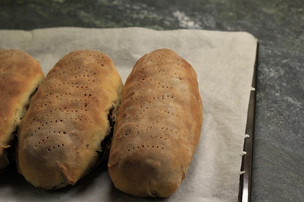 Kletzenbrot gebacken