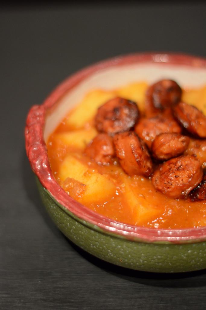 Erdäpfel Gulasch Chorizo
