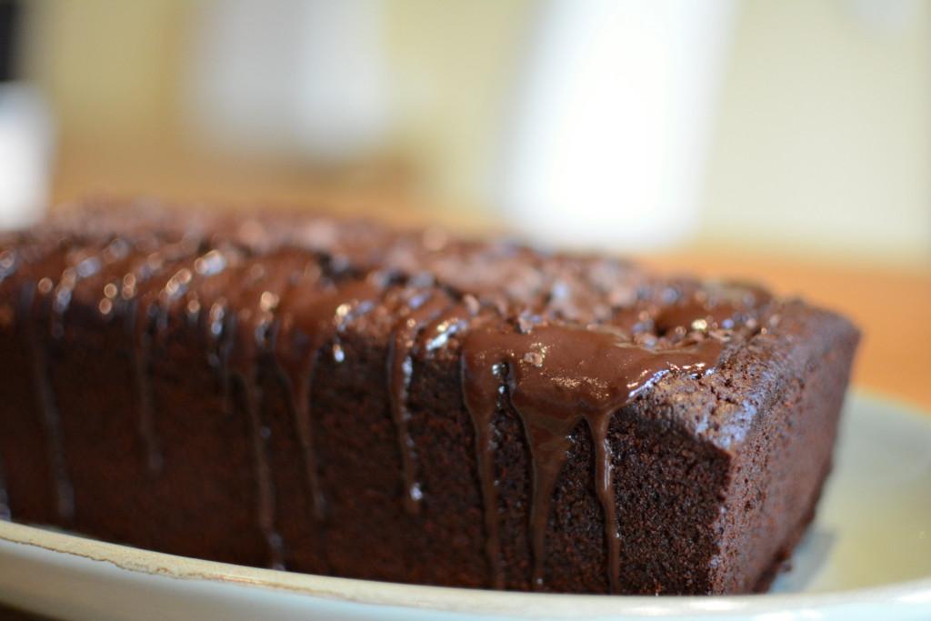 Schokoladenkuchen mit Espresso