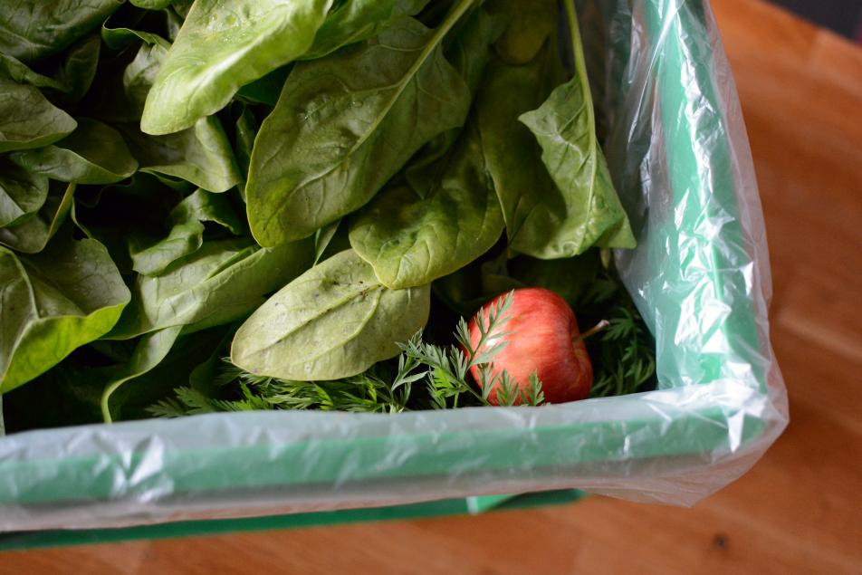 Salat im Glas zum Mitnehmen