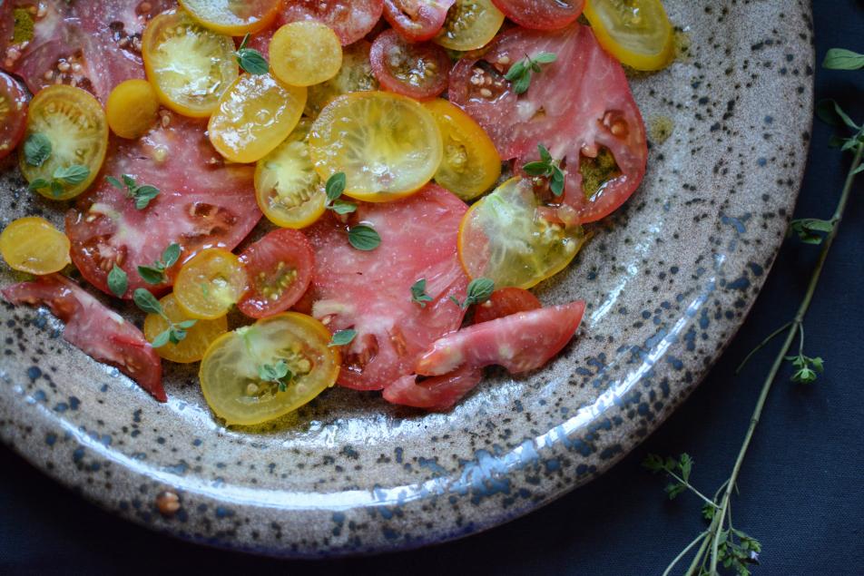 Zucchini-Topfen-Küchlein mit Sonnentor Gewürzblüten