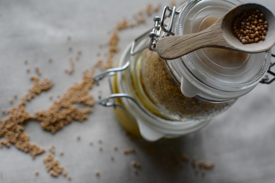 Senfkaviar - einfach und schnell