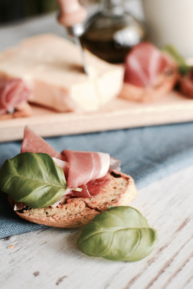 Cantuccini mit Grana Padano