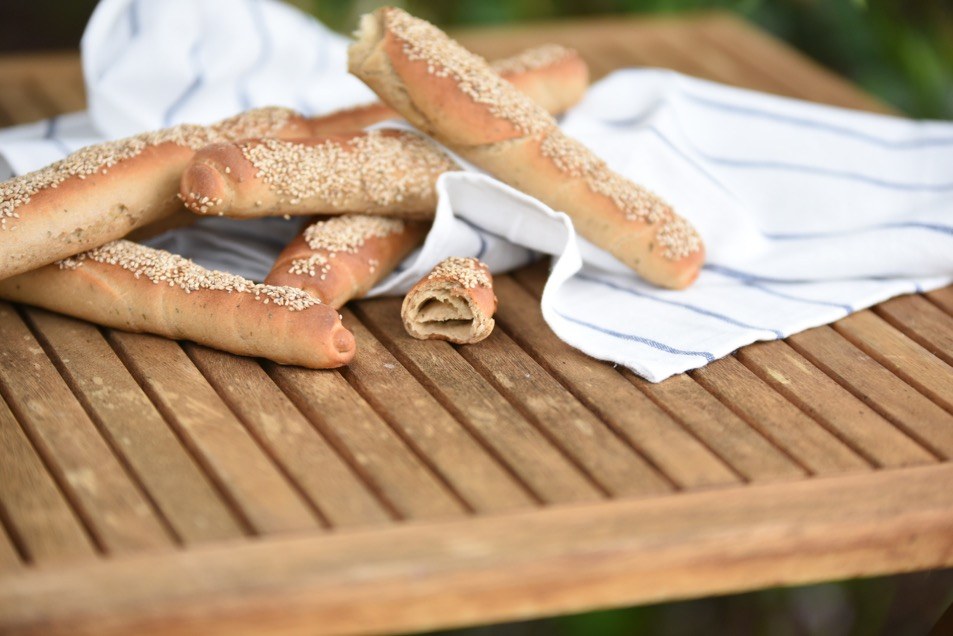 Knoblauchstangerl zum Picknick