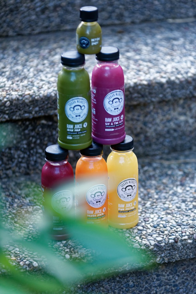 juice cleanse mit urban monkey
