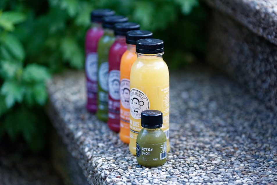 juice cleanse mit urban monkey