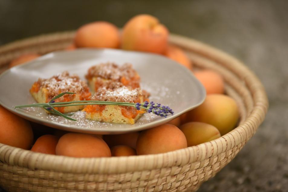 Marillenknödelkuchen mit Wachauer Marillen