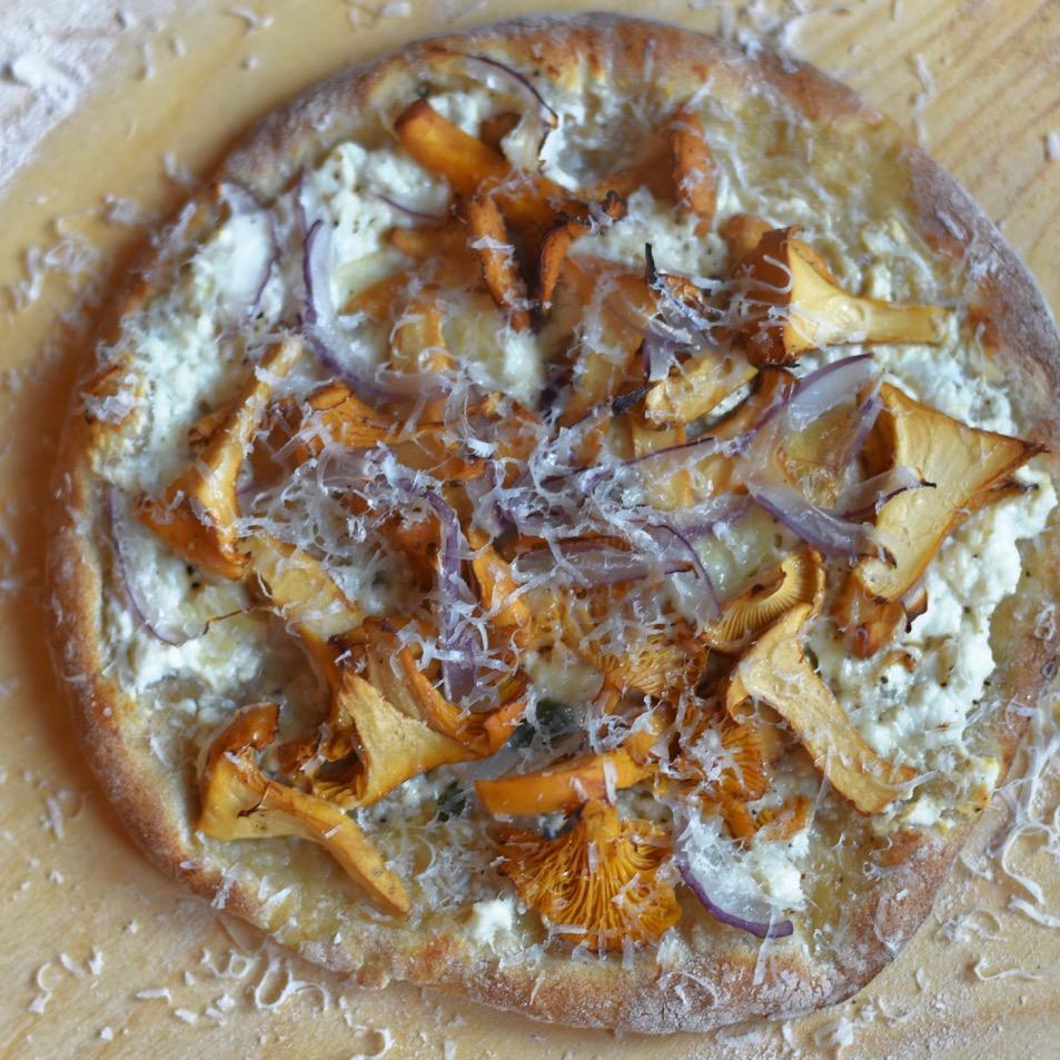 Pizza und unser besonderes Zeremoniell