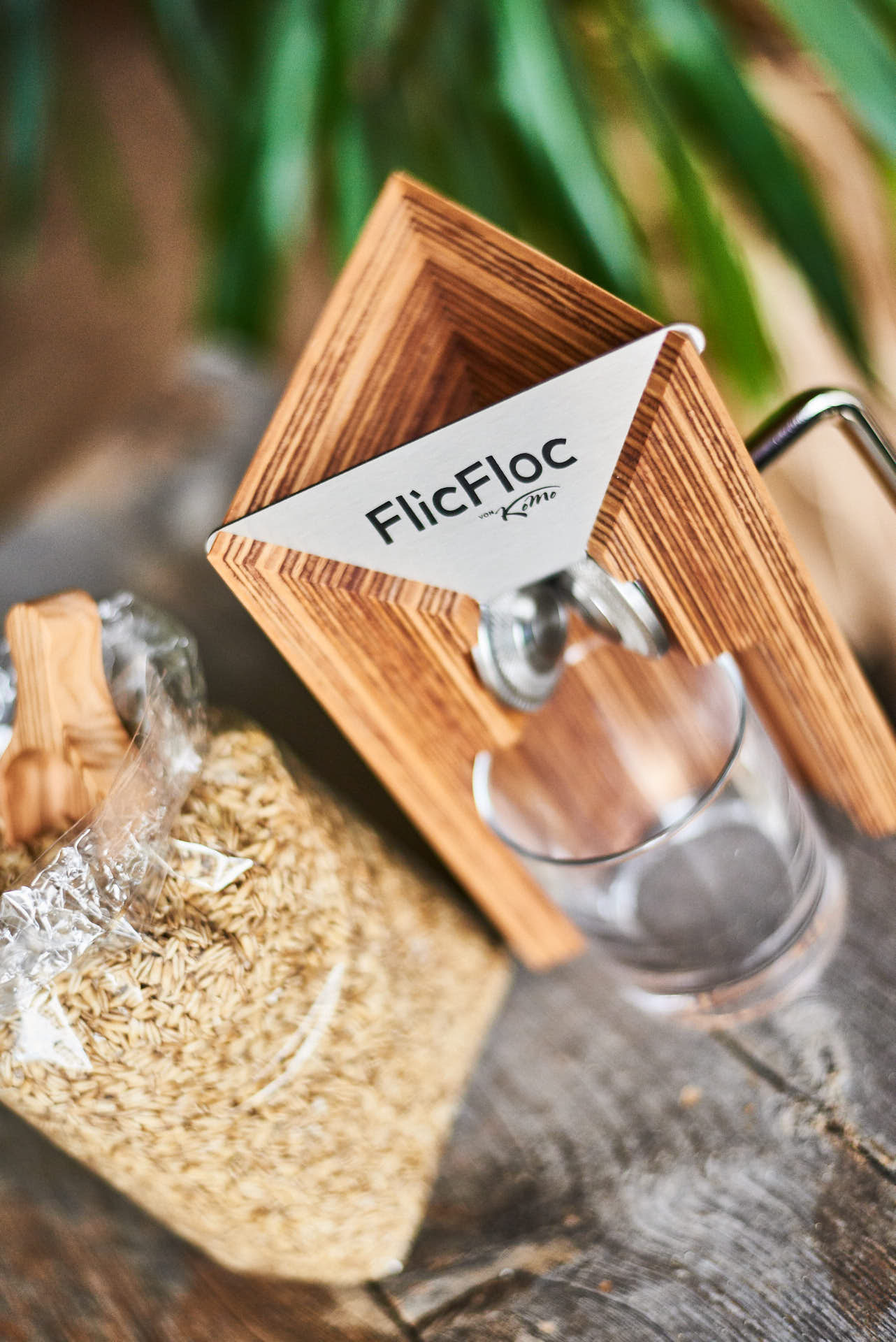 Wir flocken selbst mit der FlicFloc
