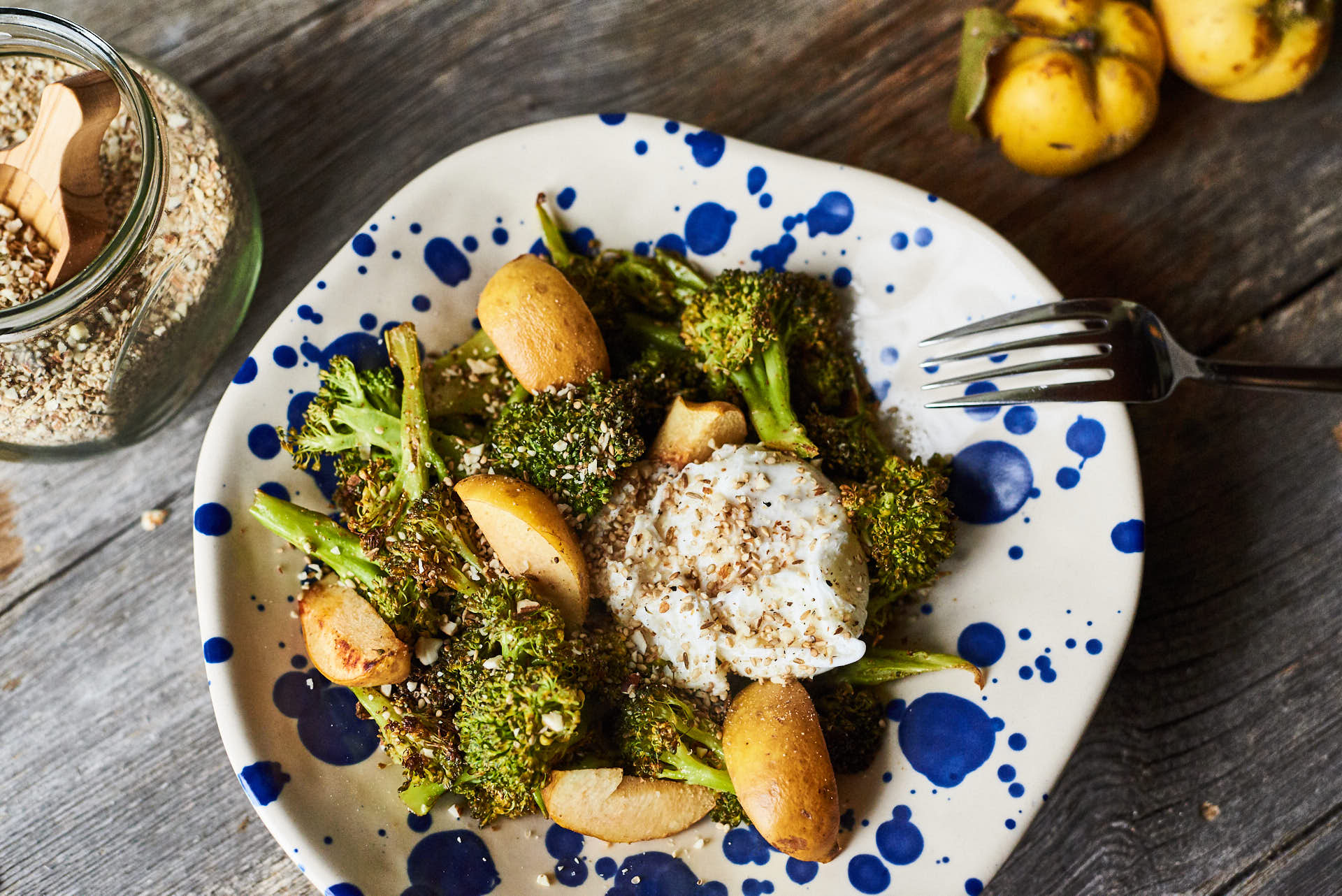 Brokkoli aus dem Ofen