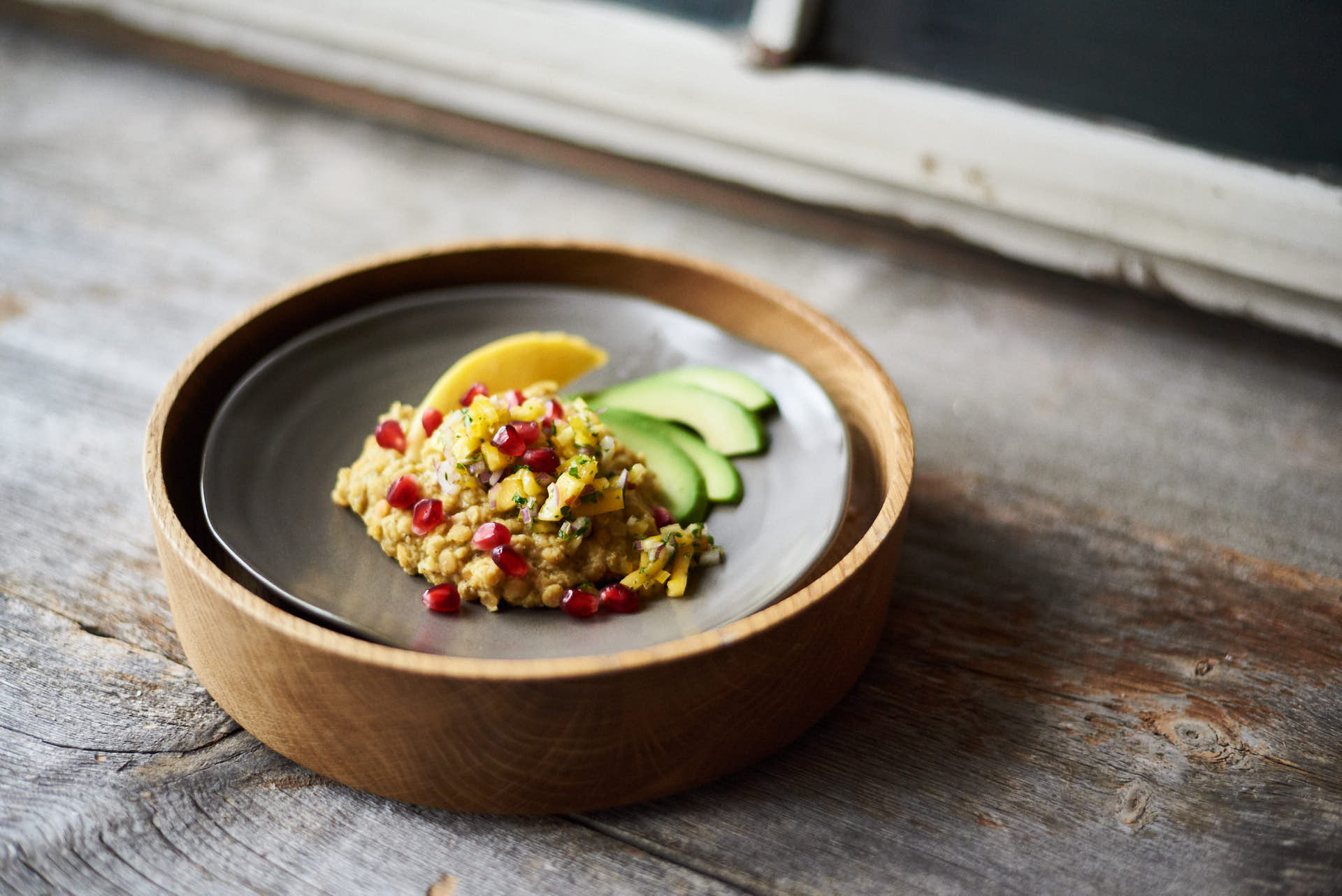 Kokosmilch Linsen mit würzigem Curry