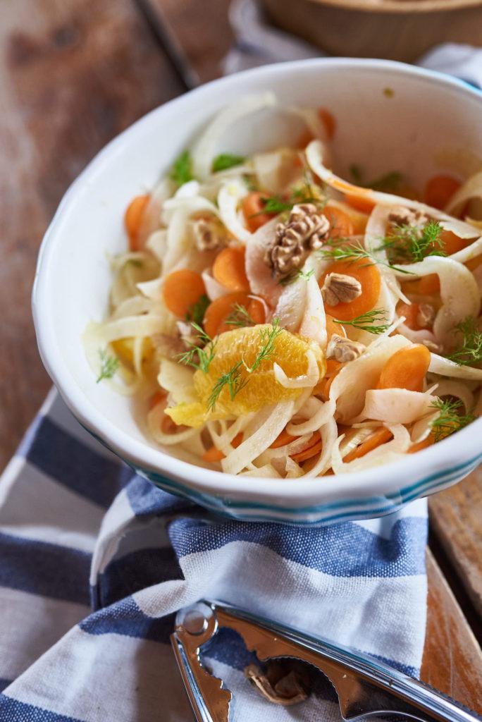 Fenchel-Salat mit Hanföl