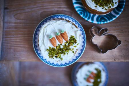 Karottentörtchen als süßer Ostergruß